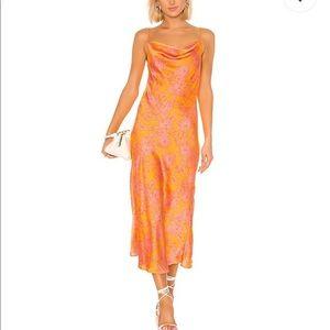 NWT Silk Maxi Dress